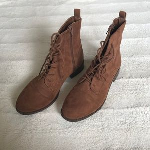 Forever 21 Brown Boots, Size 38 (Never Worn)